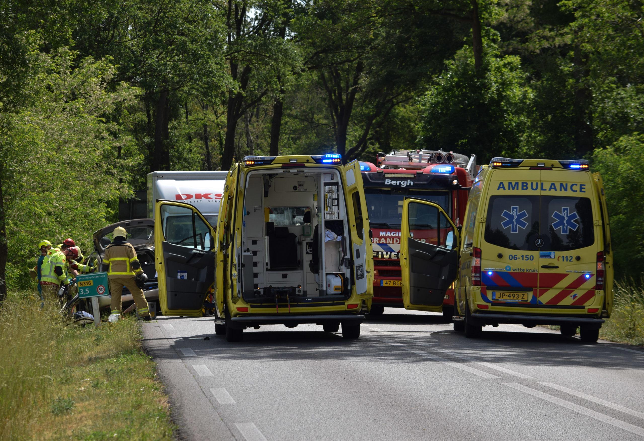 Zwaargewonde bij ernstig eenzijdig ongeval nabij Zeddam