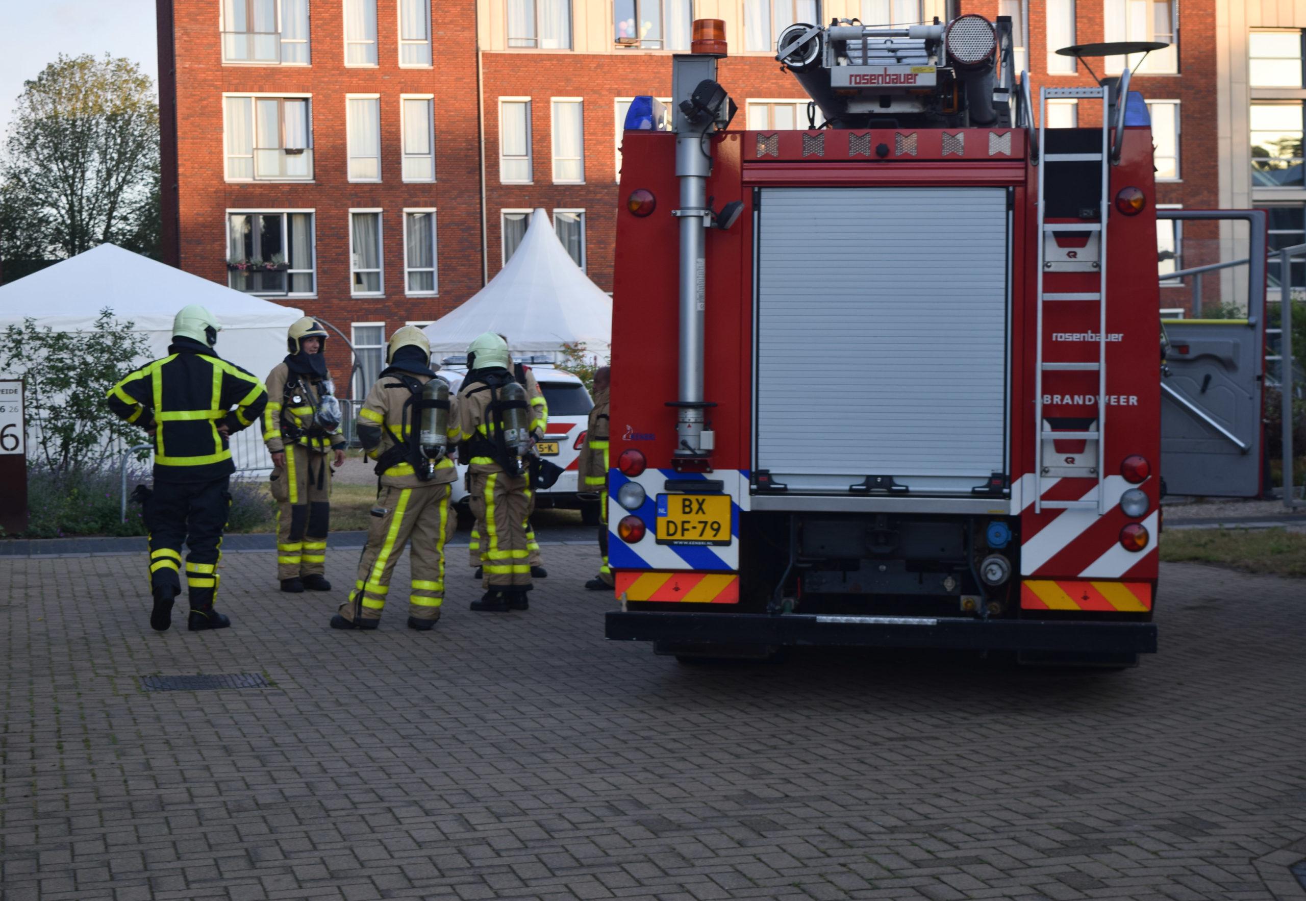 Keukenbrandje snel onder controle door ingrijpen hulpdiensten