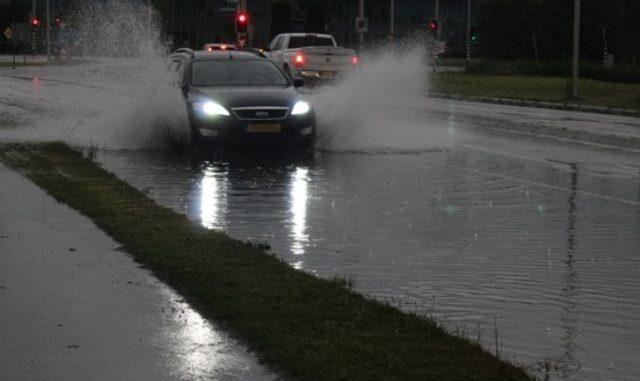 Code geel voor Gelderland, sprake van (zware) buien met lokaal veel neerslag en mogelijke wateroverlast