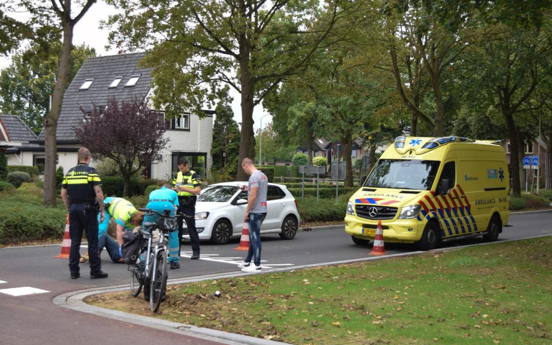 Fietsster komt ten val bij oversteekplaats, jongeren fietsen door na het ongeval