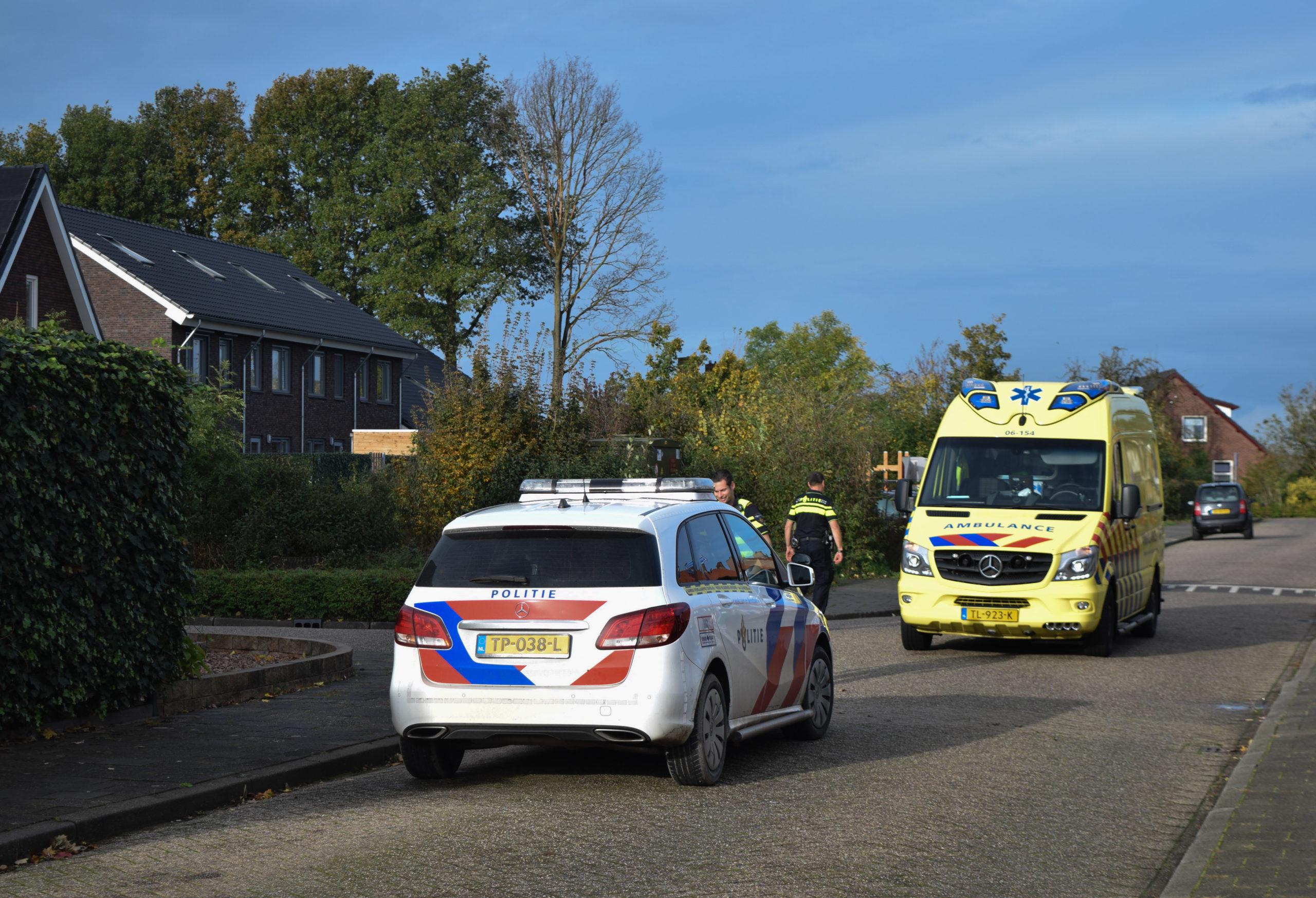 Oudere vrouw gewond bij botsing met auto in Kilder