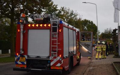 Personen in paniek bij lift opsluiting in een flatgebouw te Doetinchem