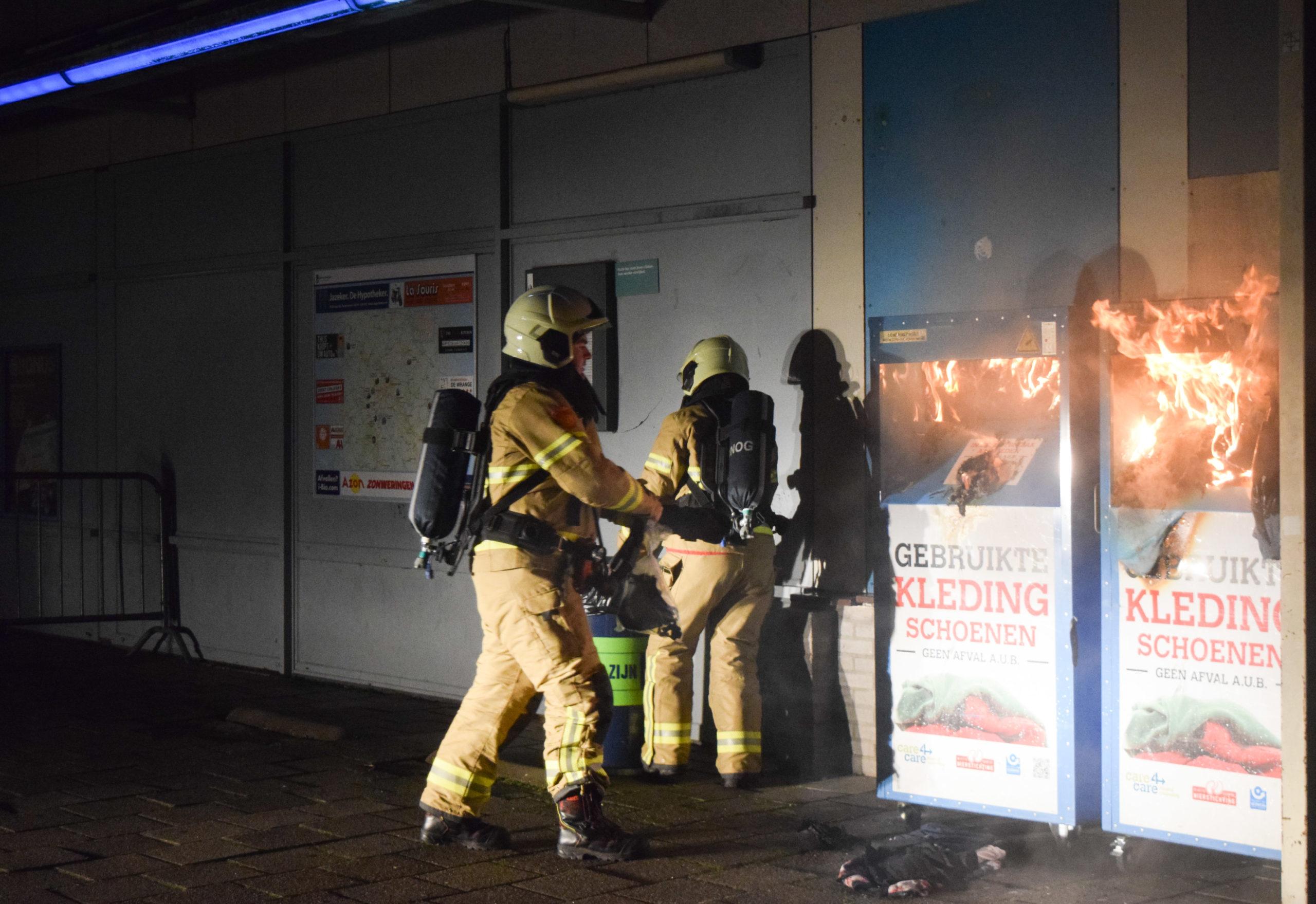 Vuurwerkschade in de regio; Doetinchem koploper qua schade aan containers, skatepark en verkeersborden