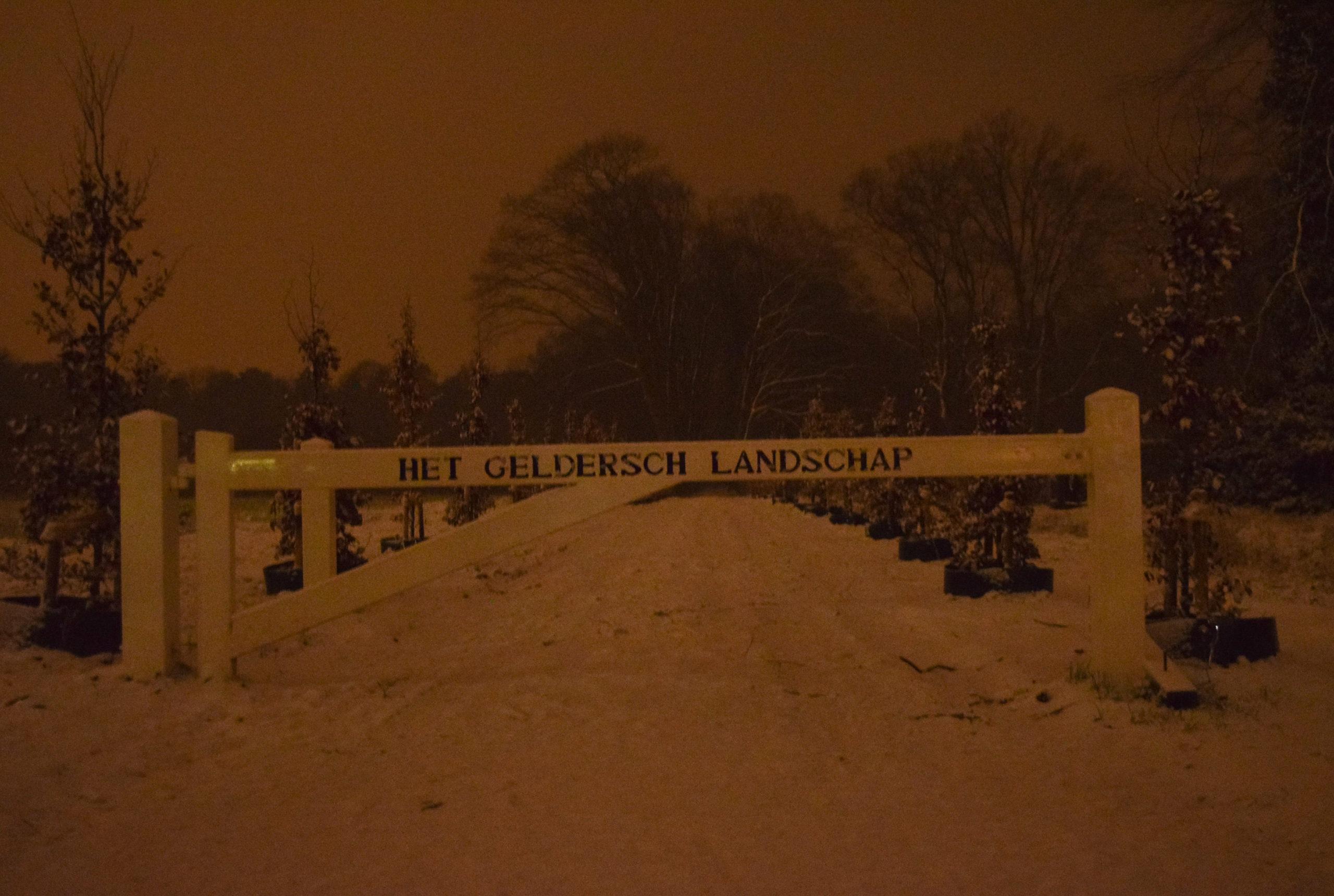 Sneeuwdek van 2-3 centimeter in de Achterhoek, KNMI waarschuwt voor gladde wegen