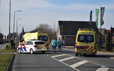 Vrouw (67) loopt hoofdletsel op bij ongeval met vrachtwagen op de N317 te Drempt