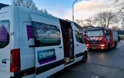 Brandweer en Liander opgeroepen voor gaslek in een woning te Doetinchem