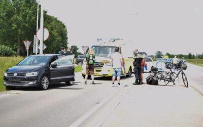 Weer aanrijding tussen auto en fietser op beruchte oversteekplaats aan de Slingerparallel N317