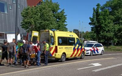 Bouwvakker zwaargewond bij werk aan gevel Schouwburg Amphion te Doetinchem