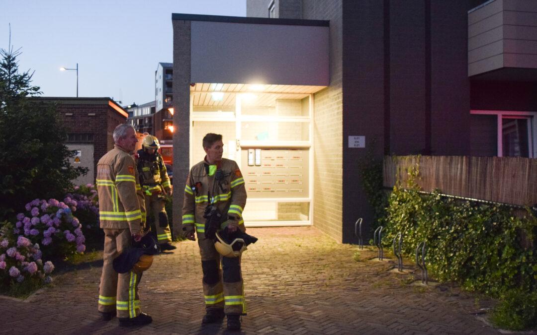 Bewoner van appartement ademt rook in bij brand in woonzorgcomplex te Doetinchem