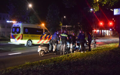 Jongeman met fiets valt hard op de rijbaan na iets te gezellige kroegavond in Doetinchem
