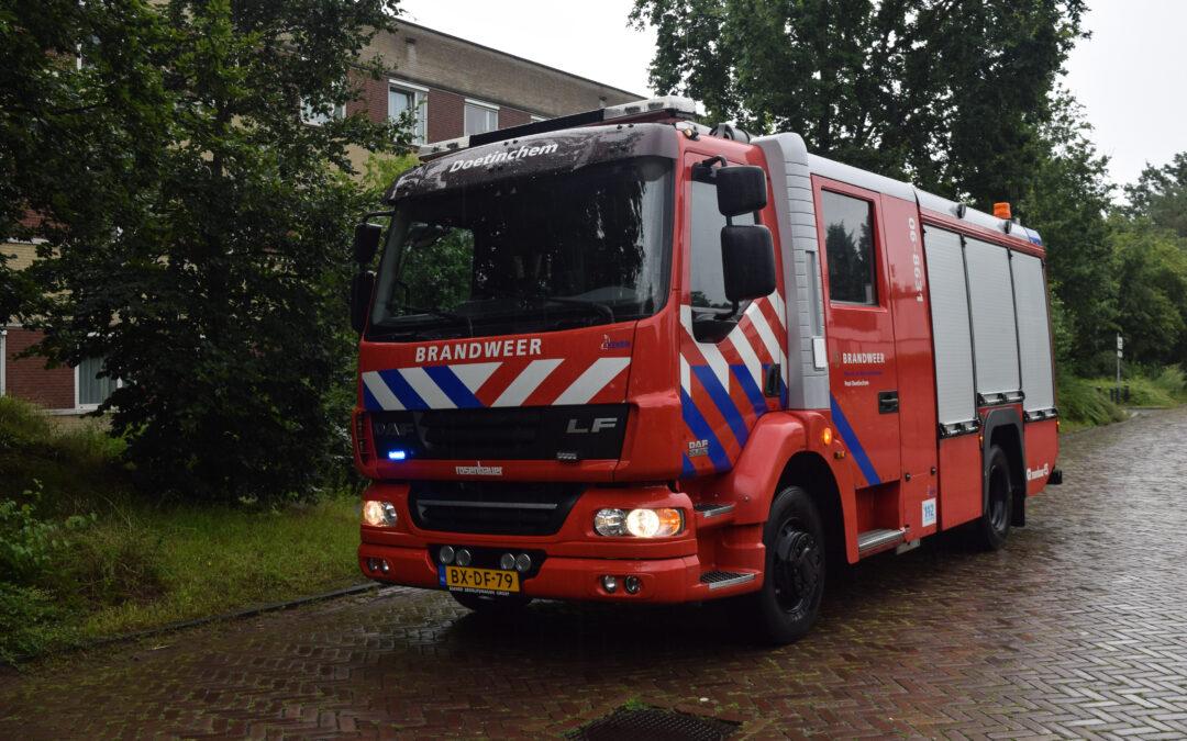 Aanhouding na brand in slaapkamer bij GGNet te Doetinchem