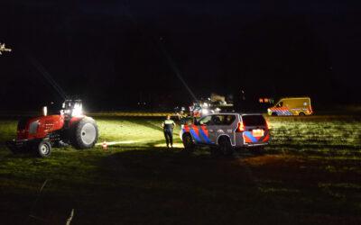 Ongeval met sporttrekker op boerderij in buitengebied van Terborg, bestuurder loopt ernstig letsel op